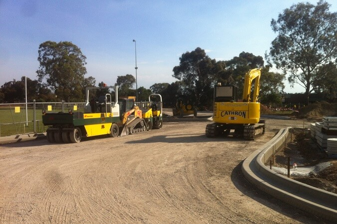 Road Surfacing Parade College Bundoora