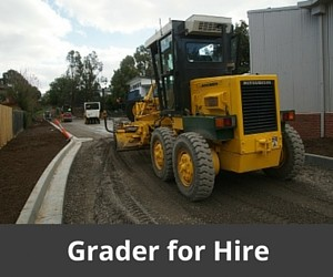 Road Grader for Hire, Melbourne North