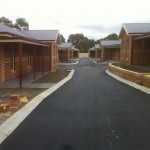 Driveway Construction at Wallan Estate North East of Melbourne