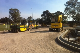 Asphalt Paving Services provided to Parade College, Bundoora