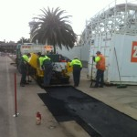 Asphalt Repairs at Luna Park