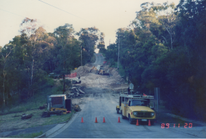 Construction of Ryans Road Roundabout Eltham Nillumbik