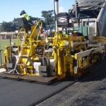 Asphalting car park at Soldiers Reserve Werribee