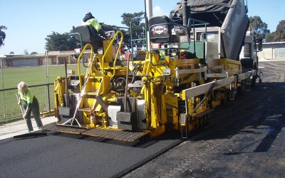 Soldier's Reserve Sports Field Paving Job