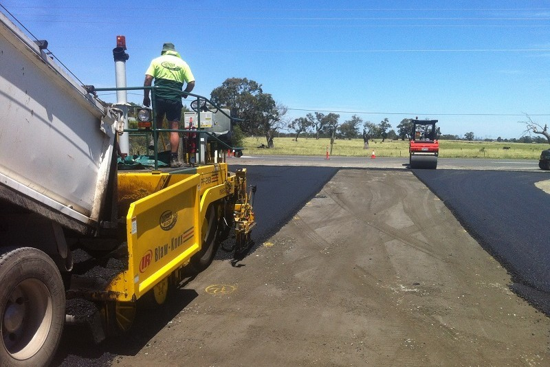 Hanson Landfill entrance rehabilitation