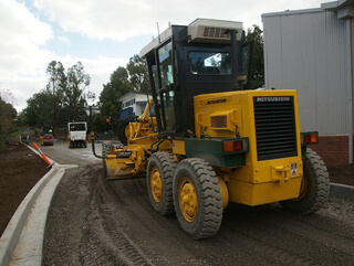 Road Grader for hire Melbourne North